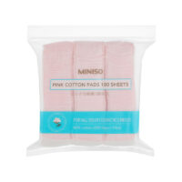Pink Cotton Pads 180 Sheets