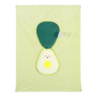 Fruit Series Leisure Blanket Avocado