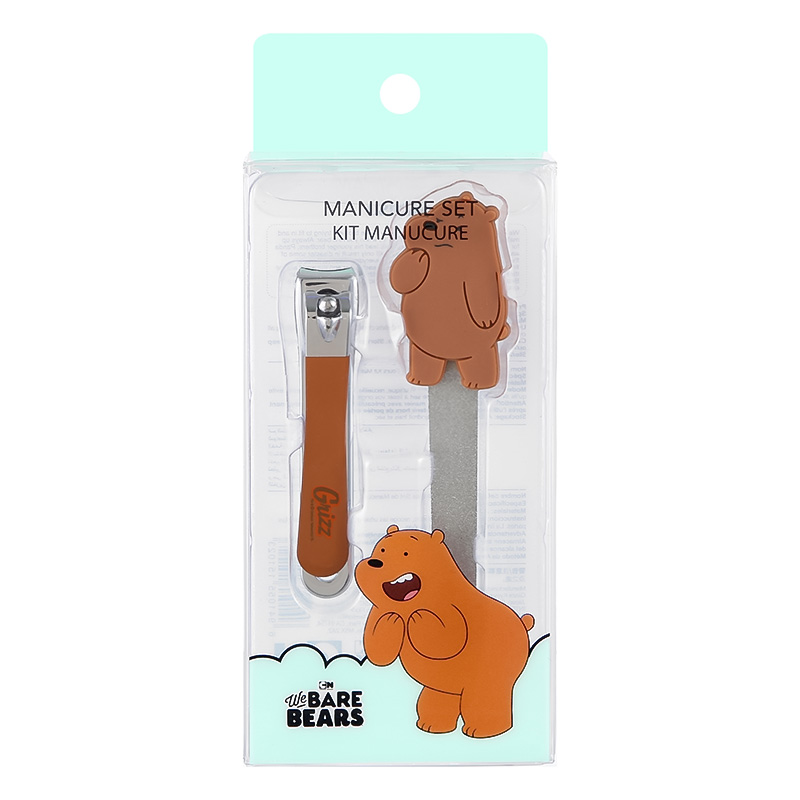 We Bare Bears Manicure Set Grizzly
