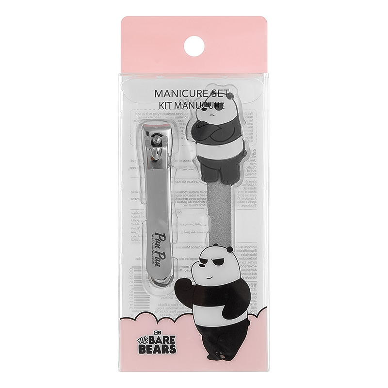 We Bare Bears Manicure Set Panda