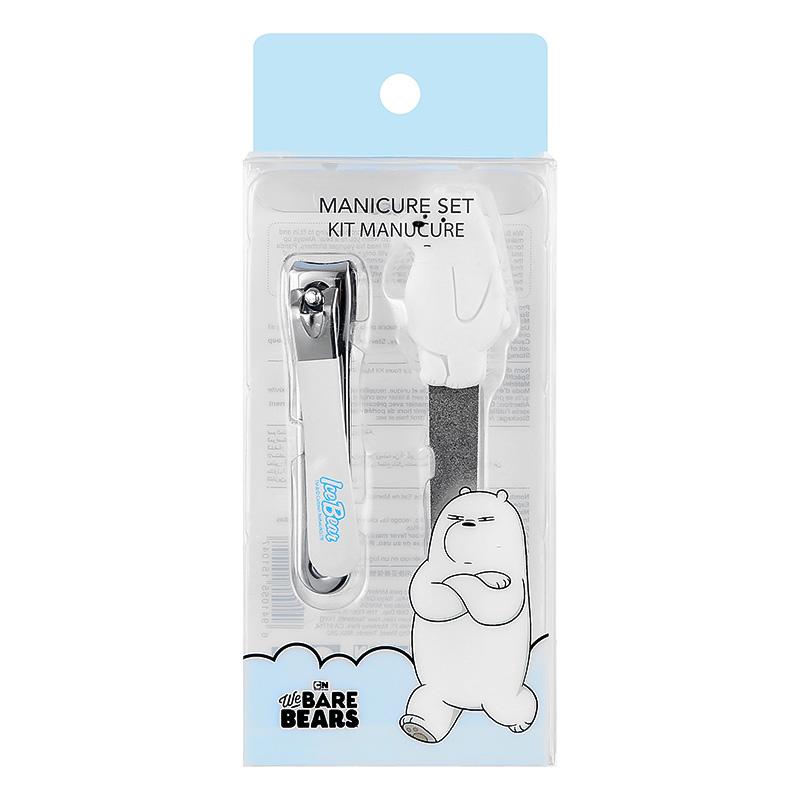 We Bare Bears Manicure Set Ice Bear