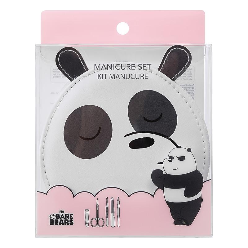 We Bare Bears Manicure Set 5pcs Panda