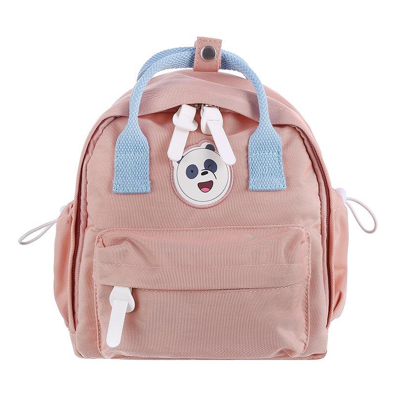 We Bare Bears Backpack and Crossbody Bag (Pink)