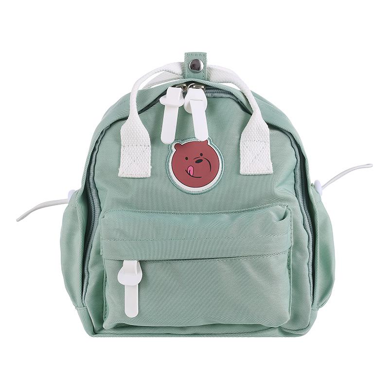 We Bare Bears Backpack and Crossbody Bag (Green)