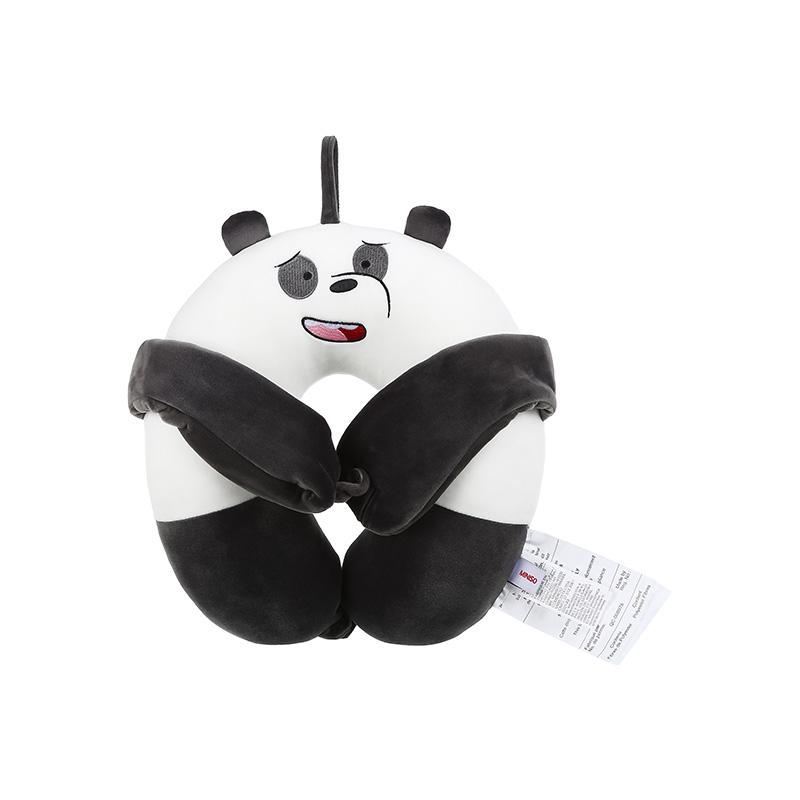 We Bare Bears-U Shaped Pillow With Eye mask Panda