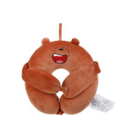 We Bare Bears-U Shaped Pillow With Eye mask Grizzly