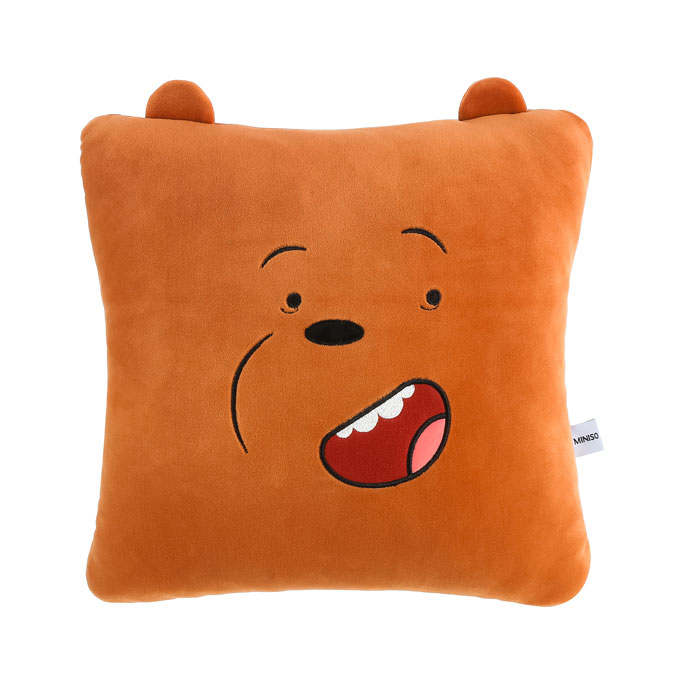 We Bare Bears Pillow & Blanket Grizzly