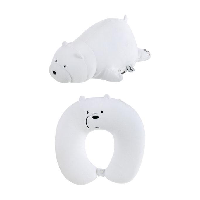 We Bare Bears Adjustable U-shaped Pillow Ice Bear