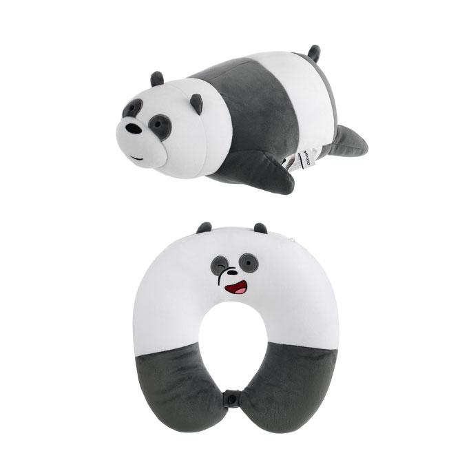 We Bare Bears Adjustable  U-shaped Pillow Panda