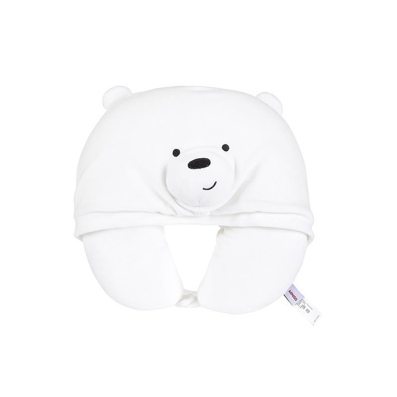 We Bare Bears U-shaped Pillow with Hood