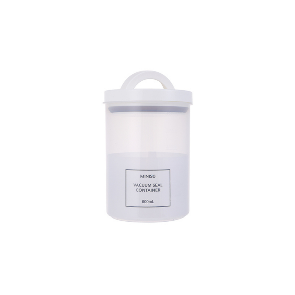 Simple PP Vacuum Seal Container 600ml