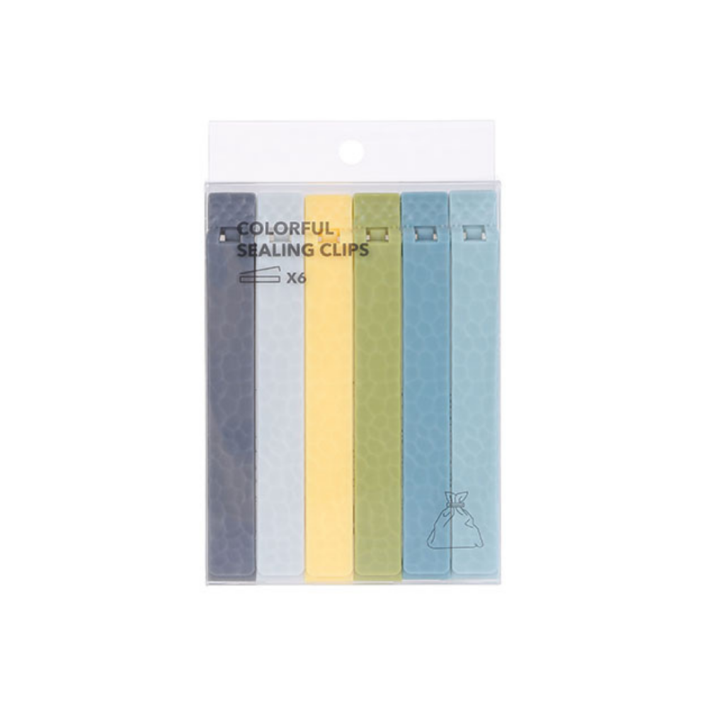 Colourful Sealing Clips (6 Pack)