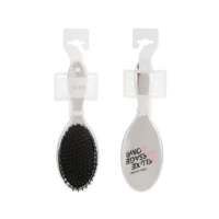 Oval Mirror Deluxe Massage Comb