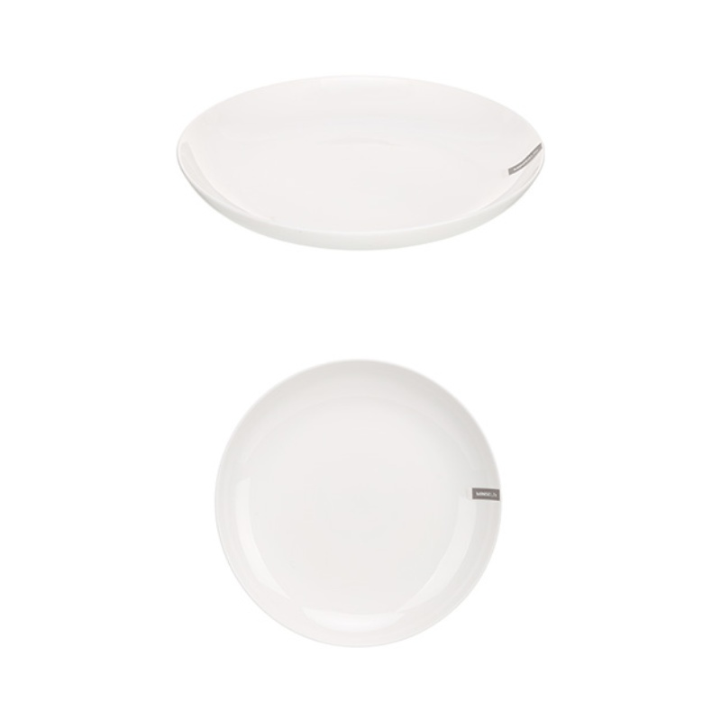 Simple Round Plate Large Size