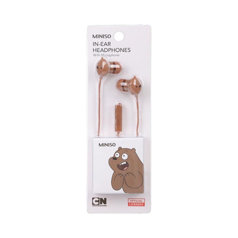 We Bare Bears Headphones With Microphone
