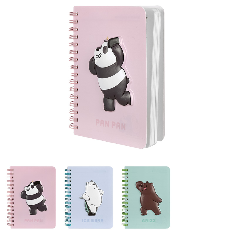 We Bare Bears Wirebound Books