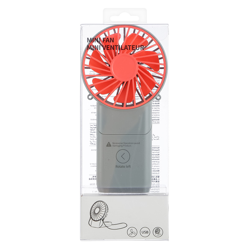 Mini Fan Grey