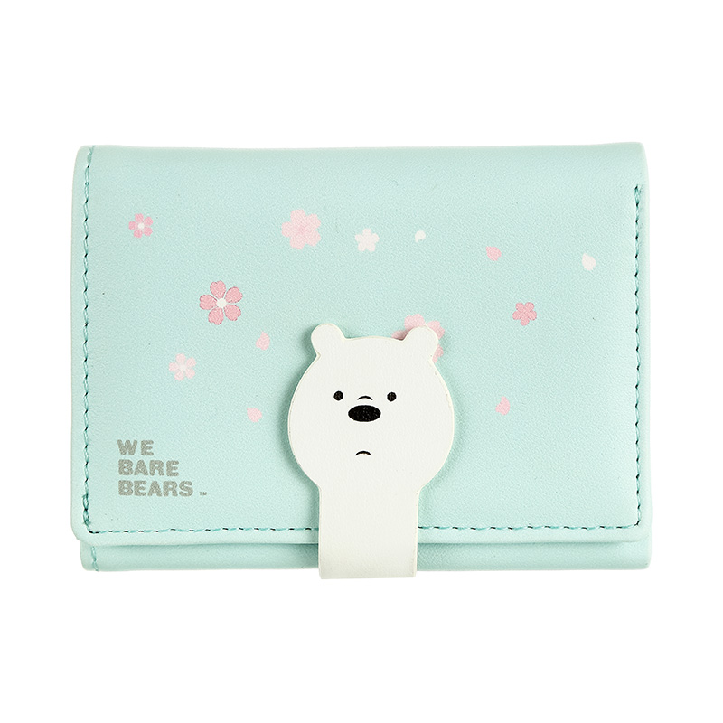 We Bare Bears Women's Wallet Ice Bear