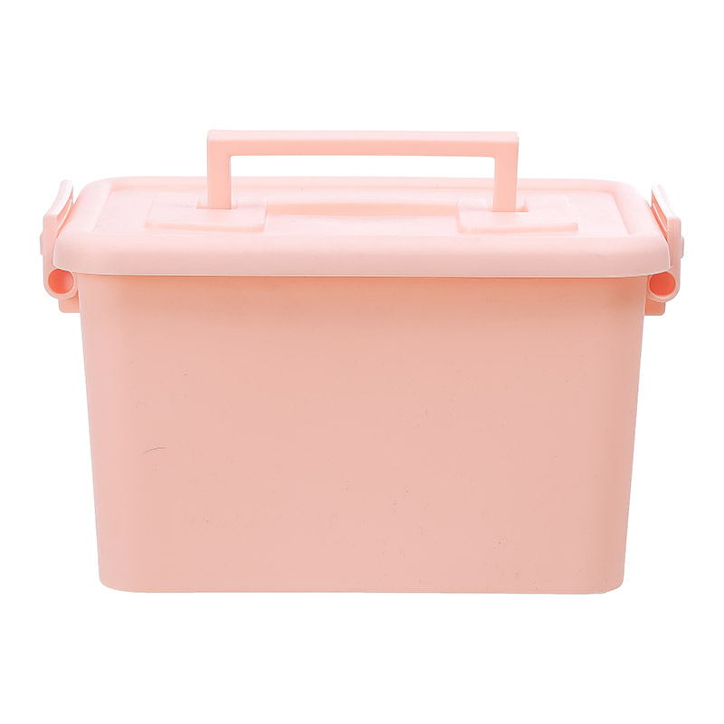 Storage Box With Lid Pink