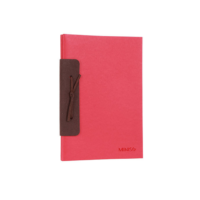 A5 Chamois Planner 26 Sheets (Red)