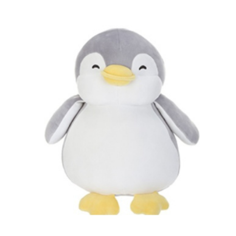 Penguin Plush Toy (Grey)