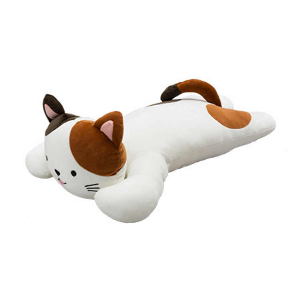 Lying Calico Plush Toy (Large)