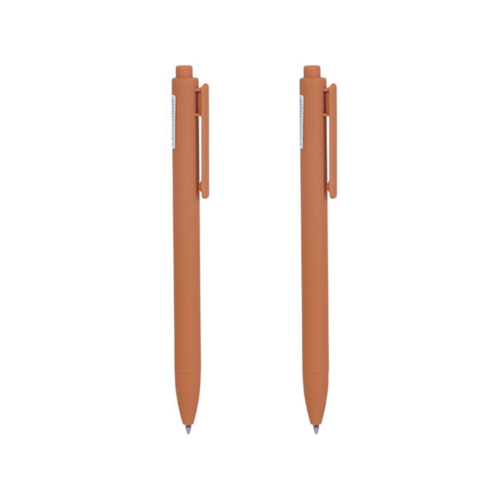 Retractable Gel Pen 0.7mm (Brown Barrel, Light Brown Ink)