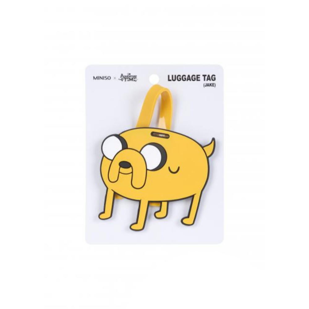 Adventure Time Luggage Tag Jake