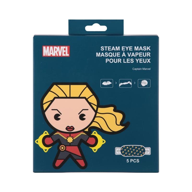 MARVEL Steam Eye Mask Captain Marvel