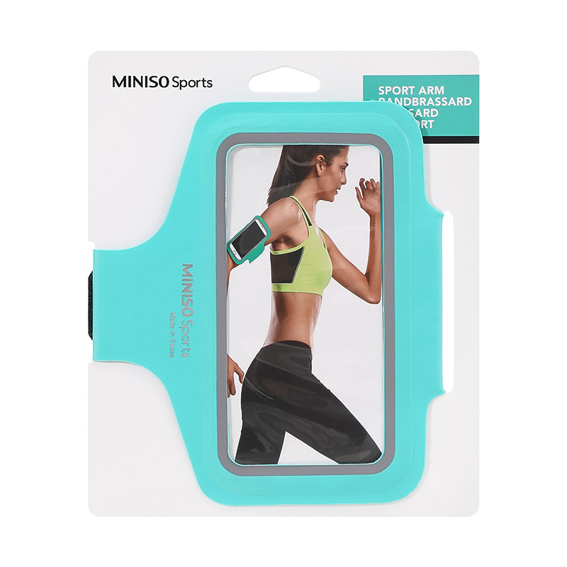 MINISO Sports-Sport Arm Band-Mint Green