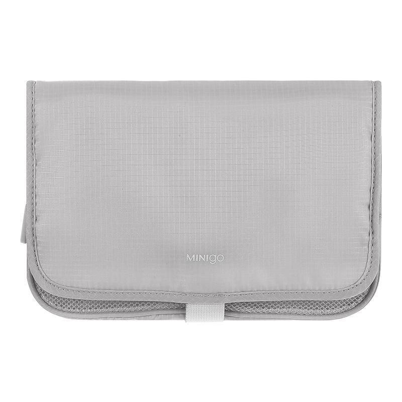 Minigo Two-fold Wash Bag (Grey)