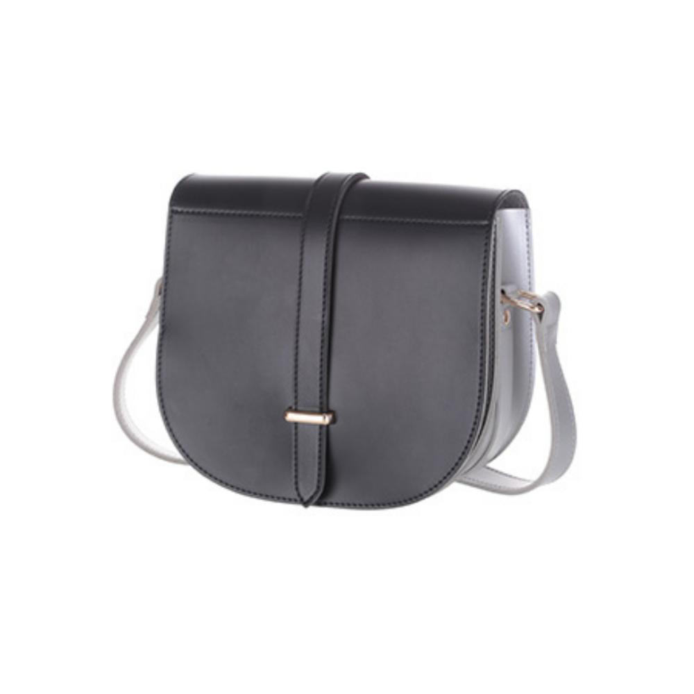 Vintage Crossbody Bag (Black)