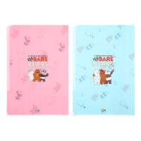 We Bare Bears-PP Folder A4 (2 Pack)