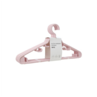 Cloth Hanger 5 Pack (Pink)