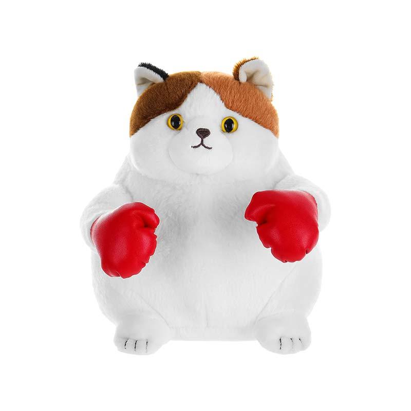 Boxing Kitten Plush Toys