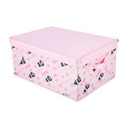 We Bare Bears Organizer Box With Lid-Large (Panda)