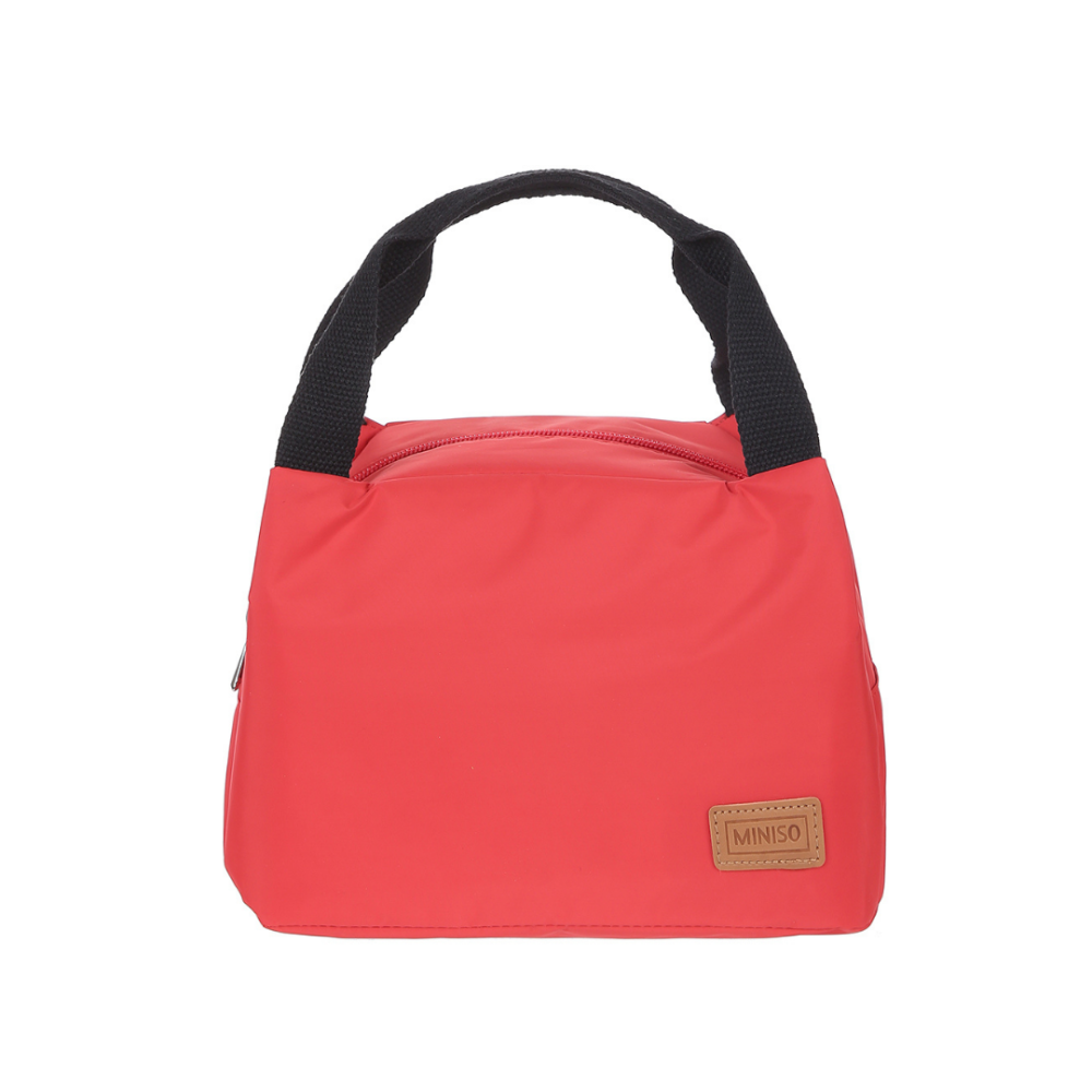 Solid Color Lunch Bag Small (Red)