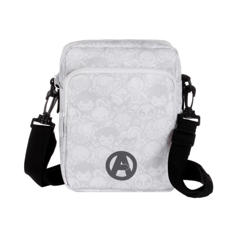 MARVEL Crossbody Bag (White & Black)