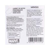 Marvel Character Memo Book
