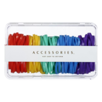 Disposable Rubber Band in Large Loop 100 Pcs
