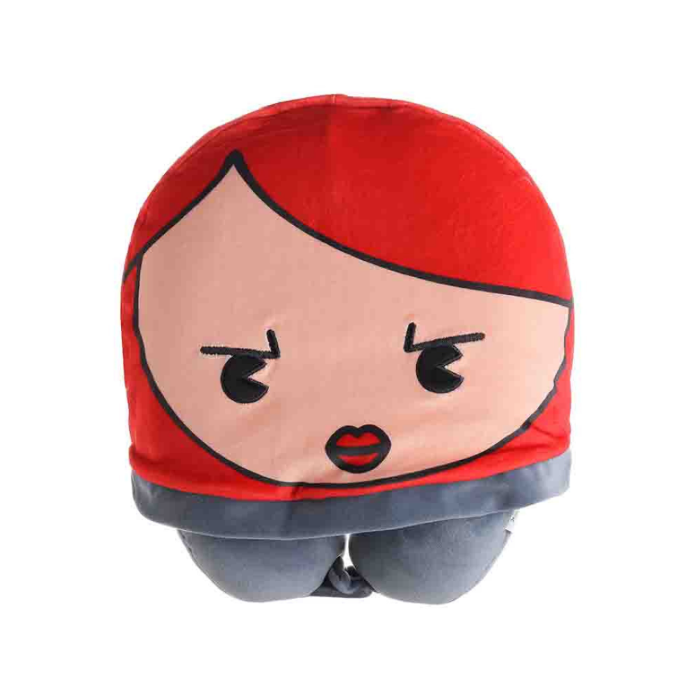 Marvel Collection U-Shaped Pillow With Hat (Black Widow)
