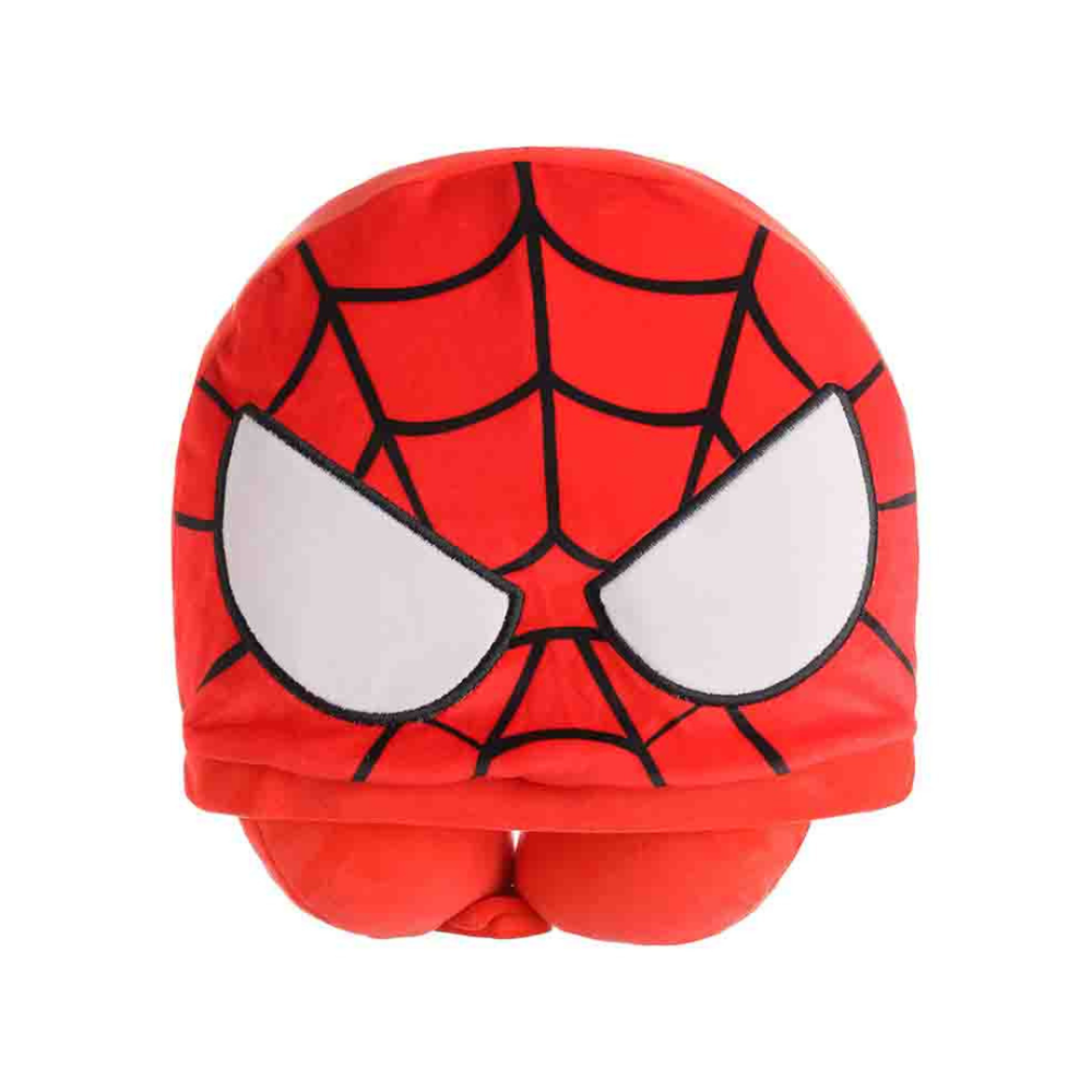 Marvel Collection U-Shaped Pillow With Hat (Spider-Man)