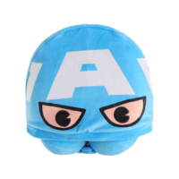 Marvel Collection U-Shaped Pillow With Hat (Captain America)