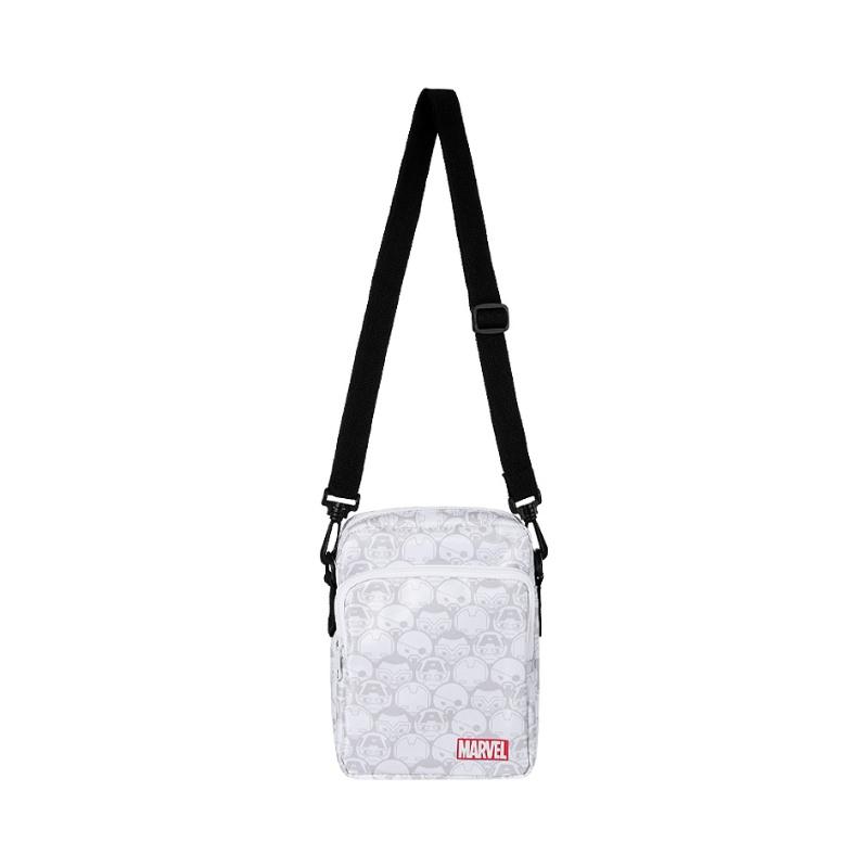 MARVEL Crossbody Bag (White & Grey)