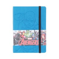 MARVEL PU Memo Book-Captain America (Small)