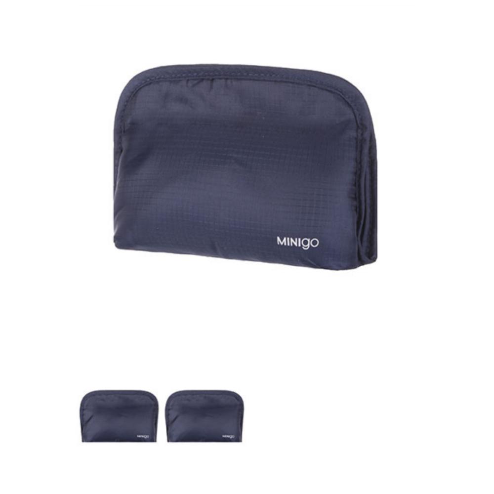 MINIGO Portable Cosmetic Bag (Navy Blue)