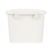 Storage Box With Lid White