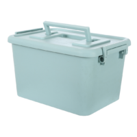 Storage Box With Lid Green